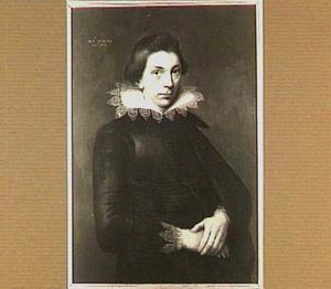Portret van een jonge man, waarschijnlijk een lid van de familie Huyssen