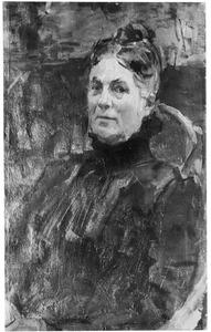 Portret van Theodora Joanna Welmoet Bok (1841-1905)