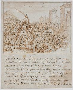 Strijd voor de muren van Troje (Vergilius, Aeneis XI)