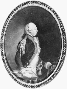 Portret van Christiaan Hendrik van der Feltz (1746-1793)