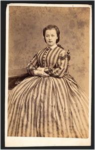 Portret van Anna Adriana Sophia Wijckerheld Bisdom (1843-1904)