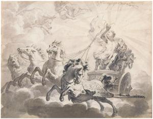 Phaeton berijdt de zonnewagen (Metamorfosen)