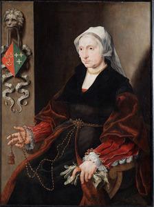 Portret van Wilhelmina Pietersdr. Palinc (....-1567)