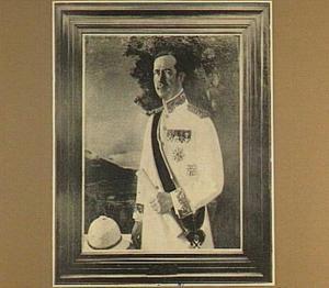 Portret van de Gouverneur-Generaal van Limburg Styrum
