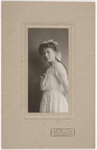 Portret van Elizabeth Maria Reitsma (1897-1982)