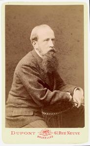 Portret van Henricus Paulus Cornelis Bosch van Drakestein (1839-1914)