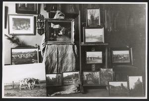Olieverfstudies in het atelier van Sikemeier (Frederik Hendriklaan 82)