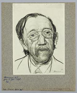 Portret van Dr. H.G. van de Sande Bakhuyzen