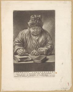 Portret van Andries Schoemaker (1660-1735)