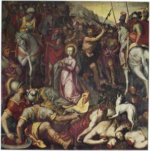 De marteldood van de H. Catharina