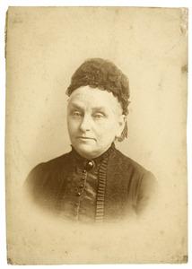 Portret van Catharina Francoise Bijleveld (1819-1890)