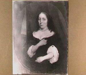 Porttet van een onbekende vrouw