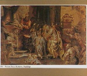 Het terugbrengen van de Ark des Verbonds door koning Salomo in de tempel (2 Kronieken 5)
