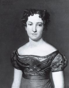 Portret van Henrietta Casimira Johanna Wilhelmina van Asbeck (1801-1885)