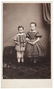 Portret van Maria Johanna Westendorp (1855-...) en Eduard Pieter Westendorp (1861-1909)
