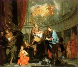 De lofzang van Simeon (Lucas 2: 27-38)