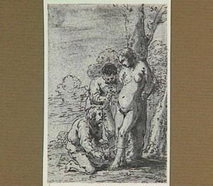 Lazarillo's vrouw wordt door twee mannen bevrijd (Lazarillo de Tormes dl. 2, cap. 10, p. 83)
