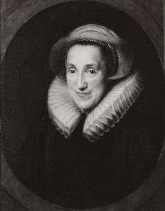Portret van Claesken (Nicolaa) van Voorst (1565-1644)