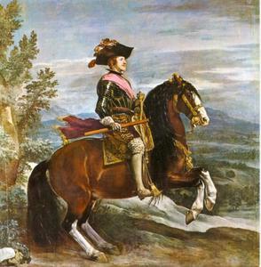 Ruiterportret van Philips IV