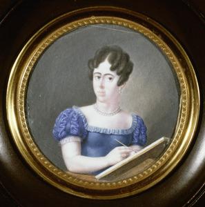 Portret van Margaretha Stratenus (1801-1824)