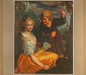 Vertumnus en Pomona (Ovidius, Metamorphoses XIV: 623)