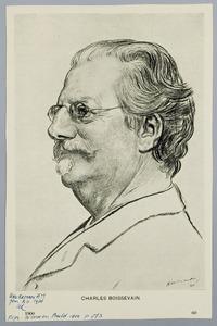 Portret van Charles Boissevain