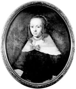 Portret van Anna Sygers- Emmius, echtgenote van Samuel Emmius