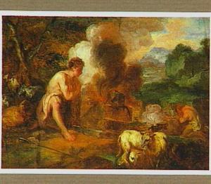 Het offer van Kain en Abel (Genesis 4:3-5)