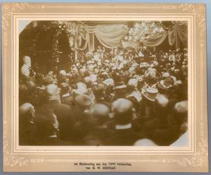 Huldiging van Hendrik Willem Mesdag (1831-1915) bij zijn zeventigste verjaardag