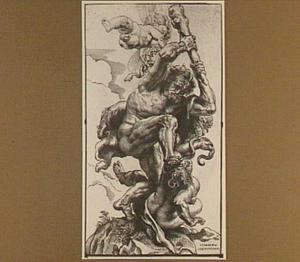 Hercules overwint de tweedracht en de nijd