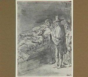 Lazarillo's zwangere vrouw erkent hem niet langer als echtgenoot (Lazarillo de Tormes dl. 2, cap. 8, p. 79)