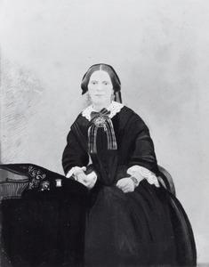 Portret van Eva van der Plaats (1818-1891)