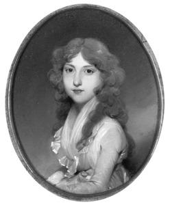 Portret van Frederica Maria Isabella Benjamina van der Capellen (1780-1810)