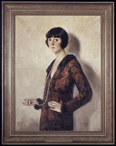 Portret van Johanna Martina 'Annie' van Ees (1893-1970)