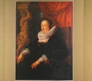 Portret van de echtgenote van Johan Wierts