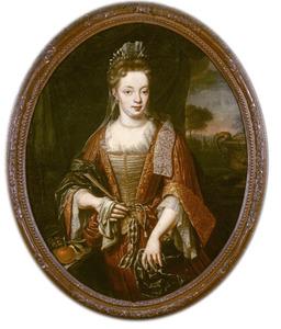 Portret van Maria van Buttinga -van Berghuys (1695-1779)