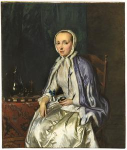 Portret van Elisabeth Troost (1730-1790)