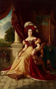 Portret van Marianne, prinses van Oranje-Nassau (1810-1883)