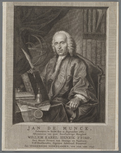 Portret van Jan de Munck (1687-1768)