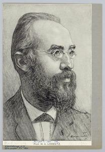 Portret van Prof. H.A. Lorentz
