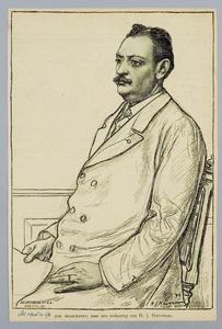 Portret van Johan Messchaert