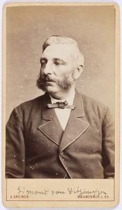 Portret van Edmund Carel Hendrik van Ditzhuyzen (1826-1901)