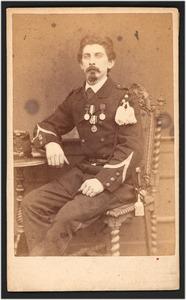 Portret van Freek de Bock