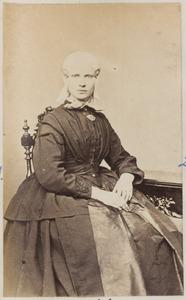 Portret van een vrouw uit familie Backker
