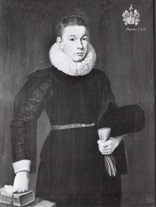 Portret van Everhard Everwijn (1598-1653)