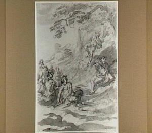 De wedstrijd tussen Apollo en Marsyas (Metamorfosen 6:382-400; Fasti 6:703-708)