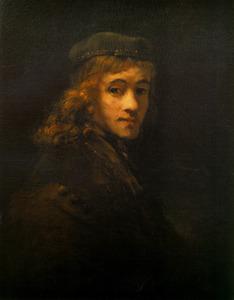Portret van Titus van Rijn