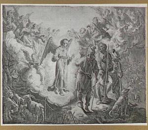 De verkondiging aan de herders (Lucas 2:8-14)