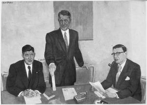 Directeuren van een jeneverfabriek