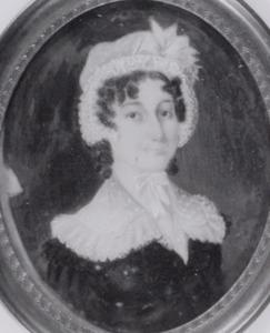 Portret van Cornelia Adriana Voorduin (1794-1857)